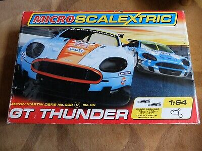 Micro Scalextric GT Thunder  • 8.10£