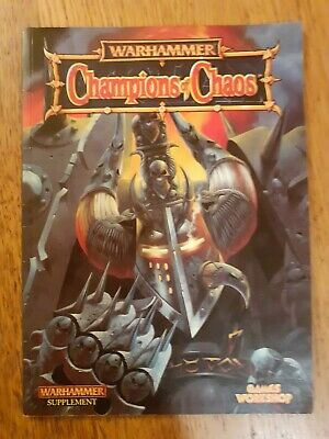 Warhammer Fantasy Army Book: Champions Of Chaos. Good Condition. Oldhammer. Rare • 15£