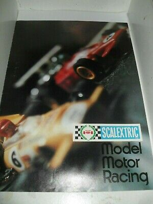 SCALEXTRIC TOYS CATALOGUE 1973 UK 14th UK EDITION EXCELLENT FOR AGE • 2.99£