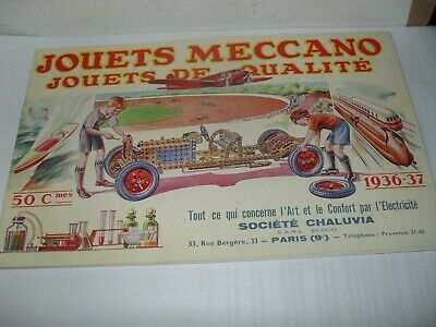 French Dinky/meccano/hornby Toy Catalogue 1936/37 Edition Excellent Vnminfor Age • 9.99£