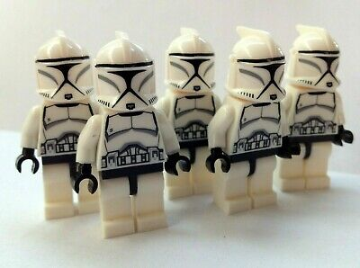 Clone Troopers Star Wars 5X Mini-figures Fits Lego • 8.59£
