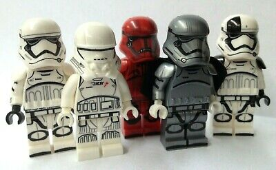 Captain Phasma With Troopers Star Wars Mini-figures Fits Lego • 8.79£