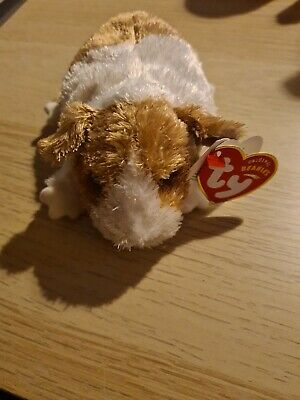 """TY Authentic Beanie Baby """"Originals"""" Twitch The Guinea Pig  - Rare, Retired BNWT • 1.99£"""