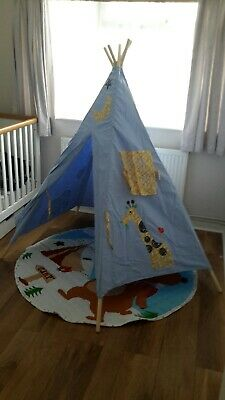 Teepee Canvas Kids Large Outdoor/Indoor Portable Indian Wigwam Childrens … • 10£