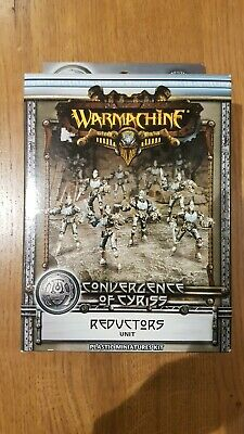 Warmachine Convergence Of Cyriss Reductors Lot 2 • 17.99£
