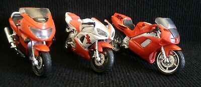 MAISTO MOTOR CYCLE DIECAST Models × 3 • 3.50£