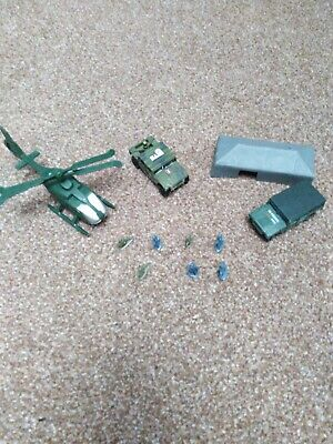 Group Of Toy Army Vehicles And Soldiers • 1.50£
