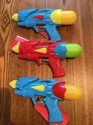 3 Water Pistols From Tesco • 4£