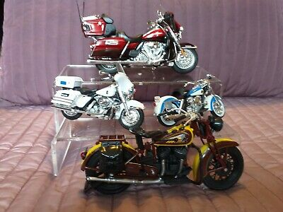 Diecast Model Cars & Motorcycles : Harley-Davidson & Indian Motorcycles • 19£