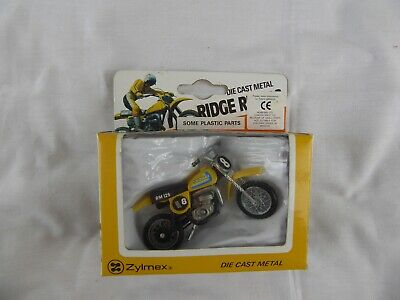 Zylmex Die-cast Metal Suzuki Ridge Riders Motorbike - Pre-owned • 3.99£