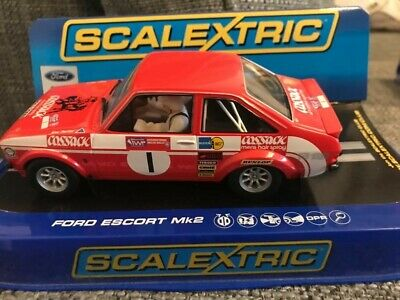 Scalextric C3483 RED FORD ESCORT Mk2 RS1800 Roger Clark Cossack • 23.82£
