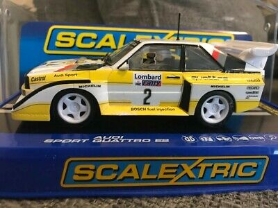 Scalextric Audi Sport Quattro E2 No2 C3634 Very Rare Car Boxed • 10£