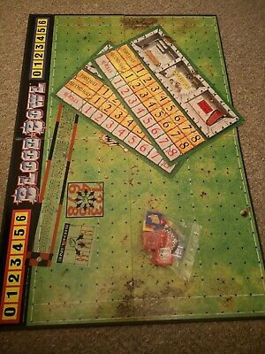 Blood Bowl Pitch, Dug Outs X2, Templates And Markers • 15£