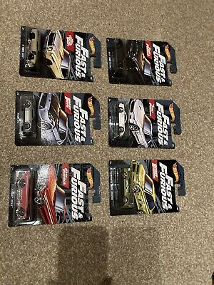 Hot Wheels Fast And Furious Walmart Exclusive Set Full Set Of 6 • 5.99£
