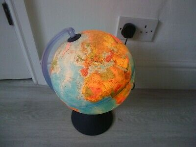 Vintage Nova Rico Educational World Globe Light • 18.99£