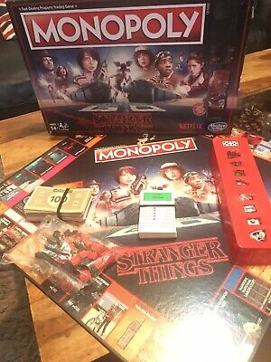 Monopoly Stranger Things Edition • 0.99£