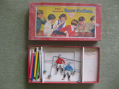 Vintage Spears Blow Football Game - Tin Plate Players Great Lid Artwork          • 3.99£