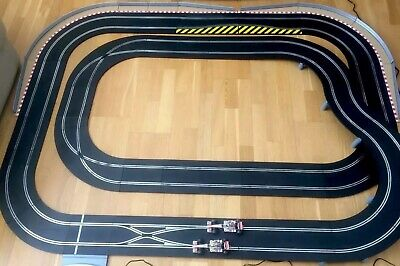 Scalextric F1 Extended Digital Lane Change  Hamilton&Alonso Set Used • 100£