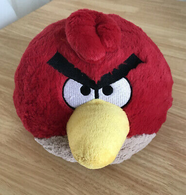 """Angry Birds Plush Red Soft Toy 10"""" Rovno • 2.99£"""