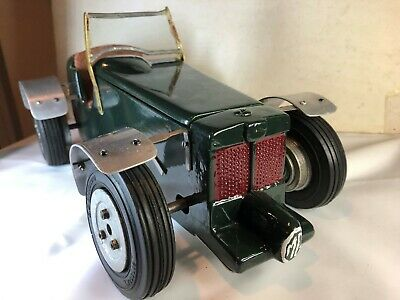 Vintage Mg Tether Car With Water Cooled Engine Ed Speedicord Tyres Wheels  • 450£