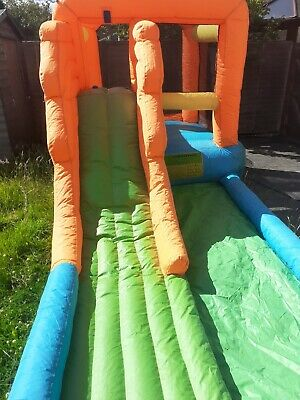 Outdoor Bouncy Castle With Water Slide And Blower  • 200£