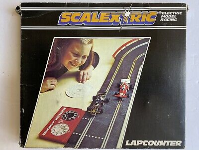 Scalextric Lap Counter C277 Boxed Complete With Speed Calculator & Paperwork • 7£