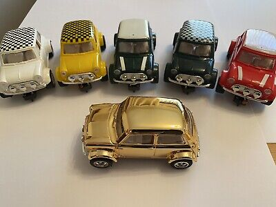 Scalextric - C7 - Rally - Mini Coopers X 6 - Great Condition • 350£