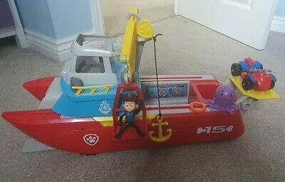 Paw Patrol Sea Patroller With Working Lights & Sounds • 15£