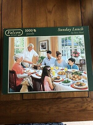 Falcon 1000 Piece Jigsaw Puzzles SUNDAY LUNCH • 3£