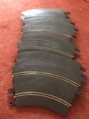 Vintage Scalextric 10 Classic Curves Pt51 Track Used • 5£