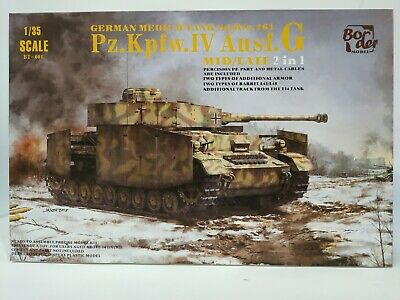 Border Models Panzer IV G 2IN1 1/35 (NEW) • 35£