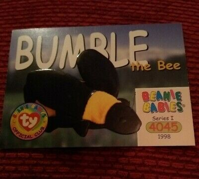 BUMBLE Ty Beanie Baby/Babies Collector's Club Trading Card Series 1 (1998) BBOC  • 0.75£