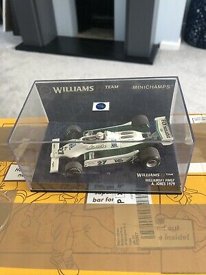 MINICHAMPS /F1 - 1979 Williams FW07 - A JONES - 1/43 SCALE MODEL CAR 430 790027 • 13.50£