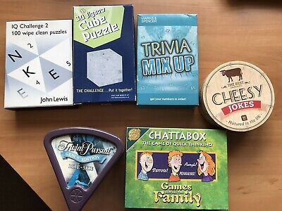 A Selection Of Different Puzzles And Games • 3£