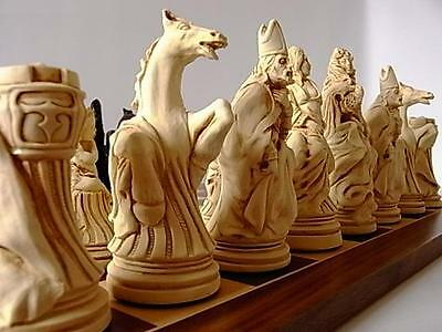The Louis XIV French/ Versailles Chess Set Of Pieces Stunning  & Vintage Style   • 4.20£