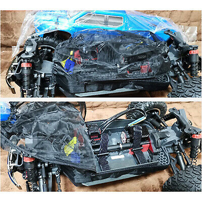 For ARRMA Big Rock Crew Cab 1/10 Car Body Dust-proof Cover Prevention Mesh Shell • 14.51£