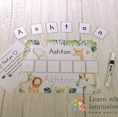 Learn To Write My Name Board. Educational Resources. Home Learning. Pen Control. • 3.80£