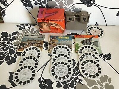 Vintage 3d Viewmaster & Slides Bundle  • 24.99£