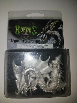 Warmachine Hordes Legion Of Everblight Nyss Sorceress On Hellion • 9.99£