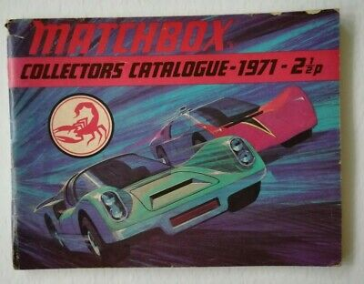 Matchbox Collectors Catalogue 1971 Uk Edition  • 3.99£