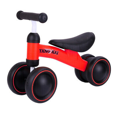 Kids Baby Balance Bike Tricycle 4 Wheel Ride-on Bike Trike Baby Toddler Running • 17.48£