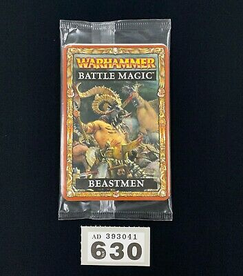 Warhammer Fantasy Battle Magic Beastmen New Sealed Complete Cards Oop • 19.95£