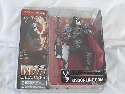 Kiss Creatures - The Demon (2002) - Collectable Mcfarlane Toys - New • 39.99£