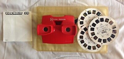 SCARCE TYCO STINGRAY VIEWMASTER GIFT SET COMPLETE 1993 Gerry Anderson AGES 3+ • 36£