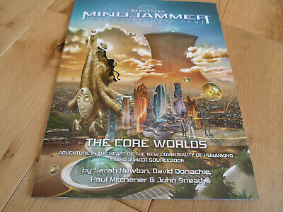 Mindjammer RPG The Core Worlds (NEW/MINT) • 20£