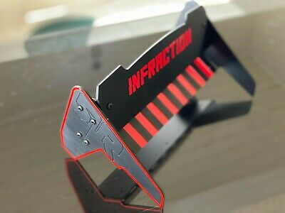 Rear Wing Spoiler Adjustable NEW For Arrma Infraction BLACK Edition • 37.21£