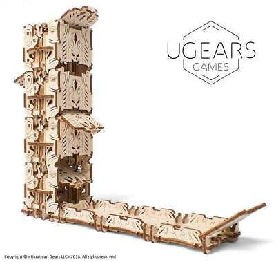 UGEARS Mechanical Wooden Model Kit. DICE TOWER. 70069 • 22.99£
