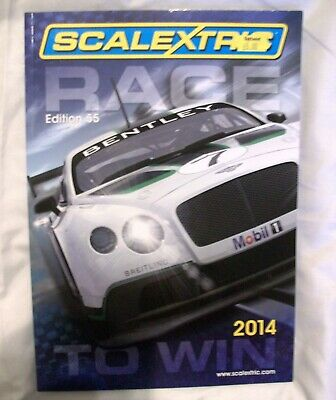 Scalextric 2014 Catalogue , Hornby Hobbies  • 3.50£