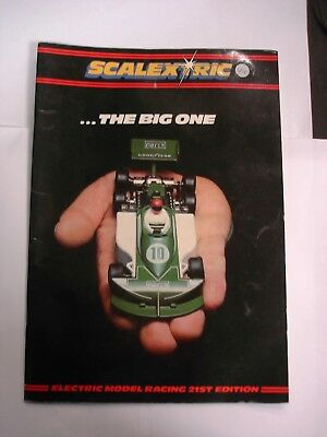 Scalextric 1980 Catalogue   Hornby Hobbies Edition 21 • 3£
