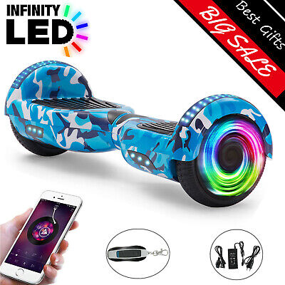 Hoverboard 6.5 Inch Self Electric Scooters Flash 2Wheels Bluetooth Balance Board • 129£